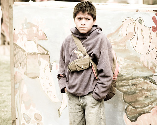 Boy In Ecuador