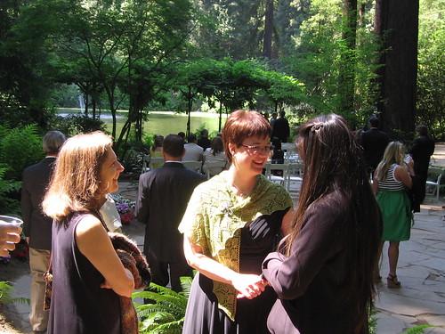 Leaf Lace Shawl at wedding