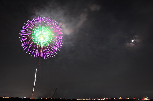 Fireworks in Japan