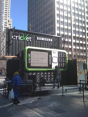 World's Largest Cell Phone is prank-called