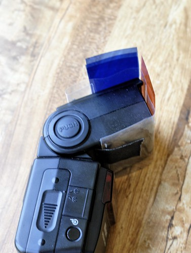 DIY Flash Gel Holder & Storage