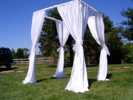 Ceremony Canopy by eventswithdesign.