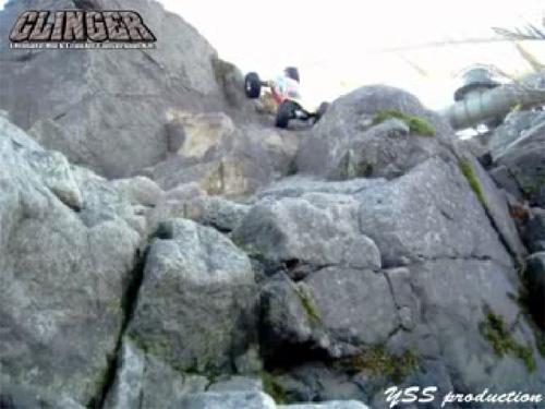 岩のモコモコ感