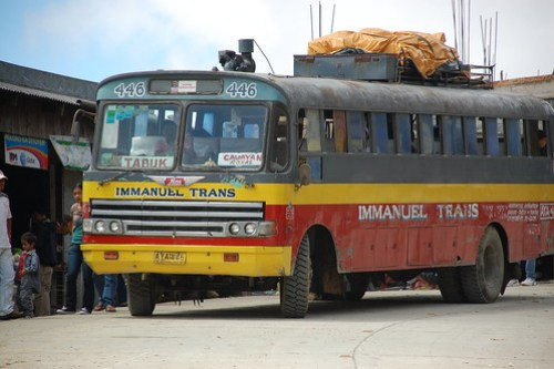 Transportation in Mount Province