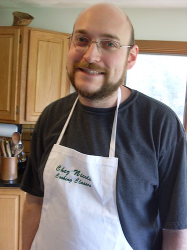 Man in an apron