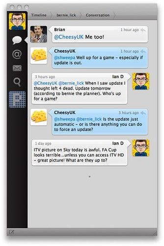 Tweetie Conversations