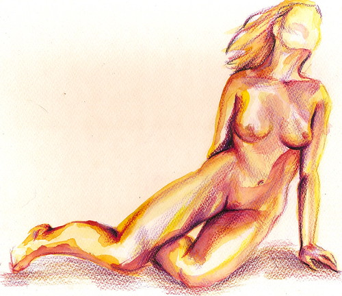 no title yet - a new nude by Jennie Rosenbaum