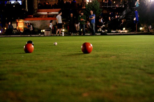 lawn bowling at Brit\'s