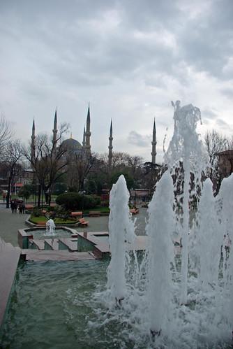 Sultanahmet Mosque, Blue Mosque, Sultanahmet Camii, Sultanahmet, İstanbul, Pentax K10d