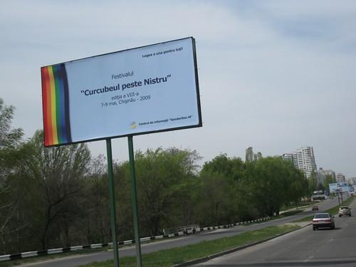 Panoul publicitar al GenderDoc-M