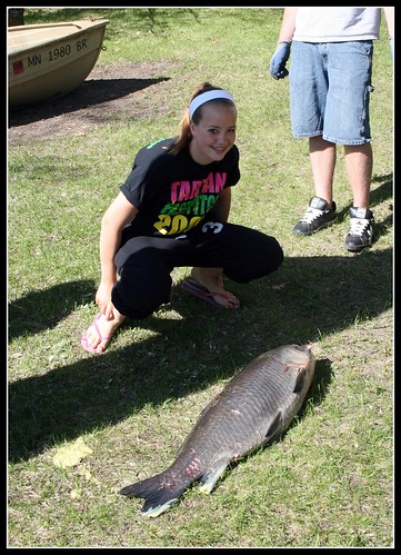 Kacey's big catch by you.