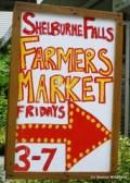 Shelburne Falls' Farmers Market on Fridays