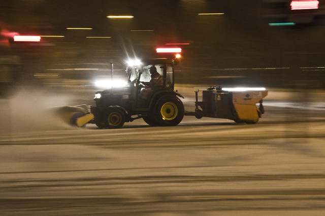 Snowstorm Ploughing