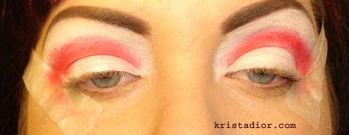 MAC Pure White Pigment & MAC Basic Red Pigment