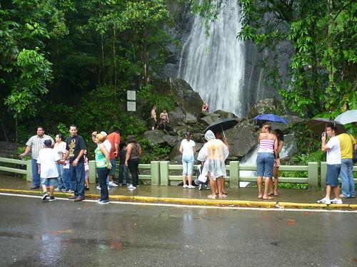 Tourists in El Yunque