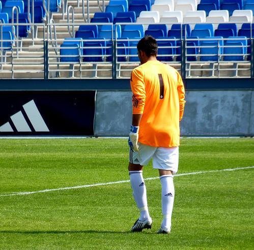 Real Madrid goal keeper