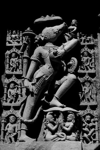 Varaha Avatar by Sudhamshu.