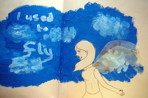Art Journal: I used to fly
