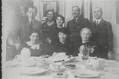 Stefan Zweig and Friderike Zweig with unidenti...