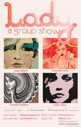 Lady show poster