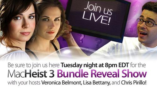 I'm Hosting the MacHeist Bundle Reveal Show