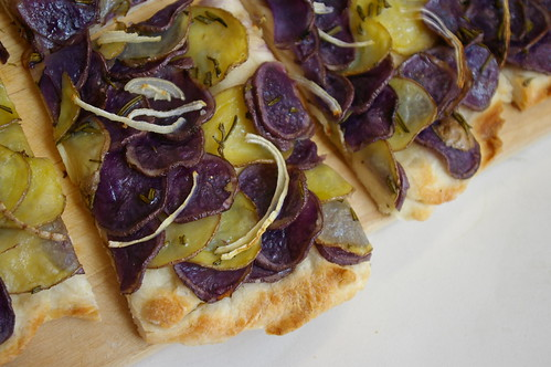 Potato Pizza with Rosemary III