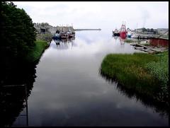 Latvija, il porto a Roja
