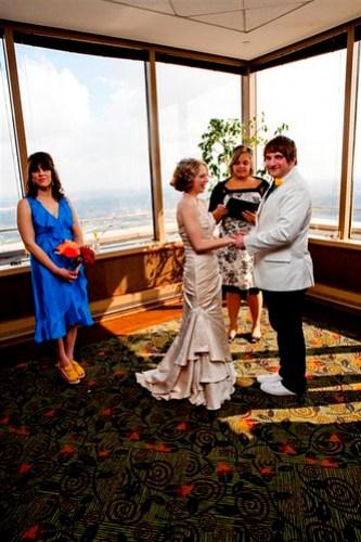 Rocketship Wedding