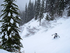 Snow Boarding in Fernie, Canada