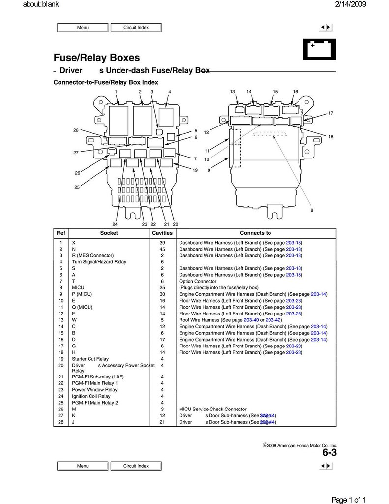 Honda 20 Pin Radio Wire Diagram, Honda, Free Engine Image