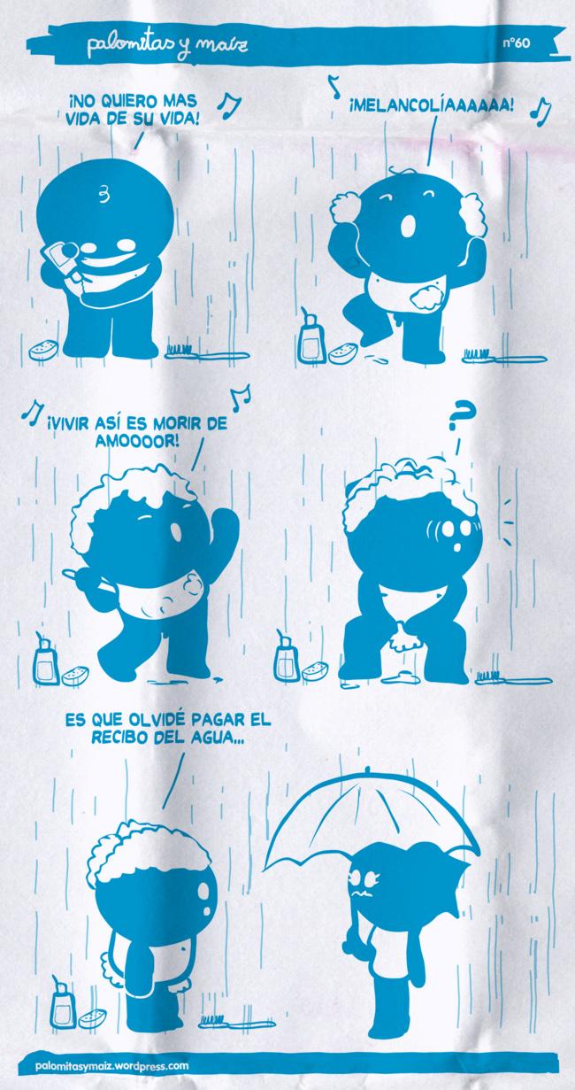 Cantando bajo la ducha!