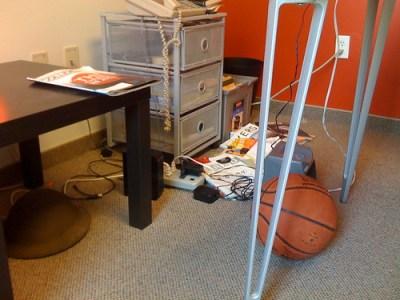 Clutter Office Corner
