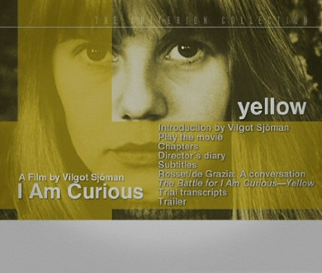 I Am Curious Yellow 180