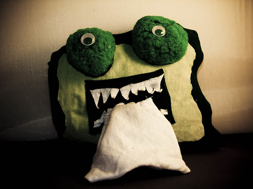 Snot Monster will devour all of your tissues!