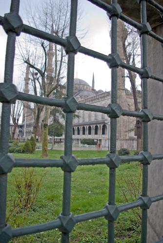 Sultanahmet Mosque, blue mosque, sultanahmet camii, sultanahmet, istanbul, pentax k10d