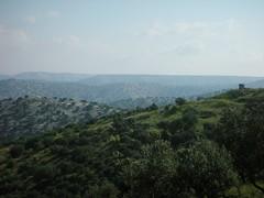 Um Qais: Lonely Guard Tower on Jordan/Syria Border