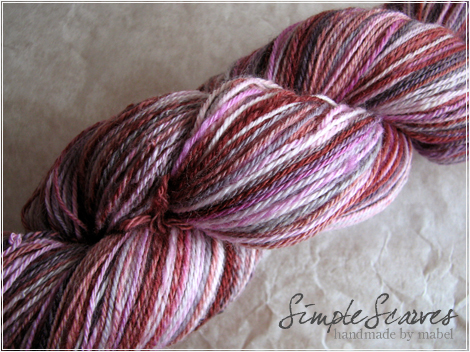 Cassis in Superwash Merino