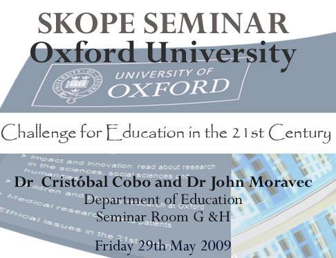 Lecture @ Oxford