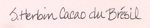 J. Herbin Cacao du Brésil