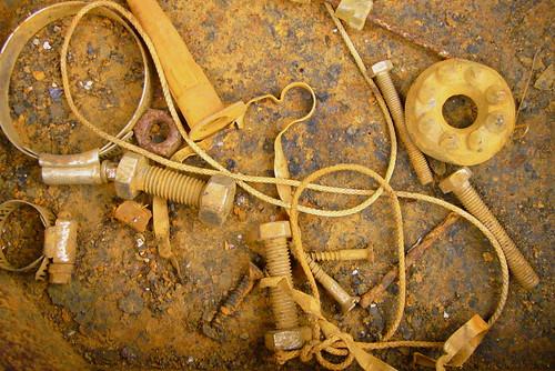 Image: rusty tool box