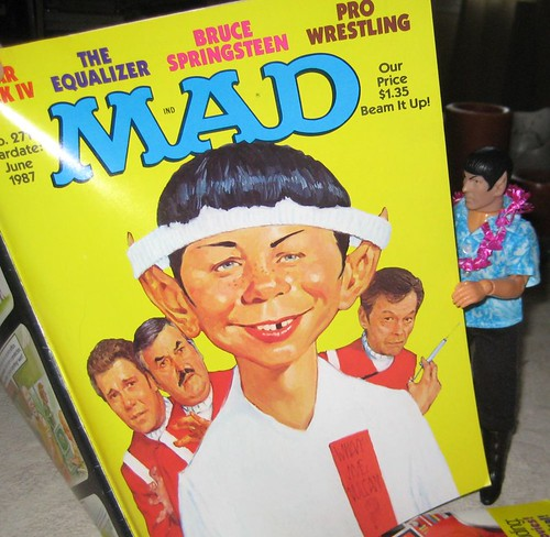 Spock reads Mad 2