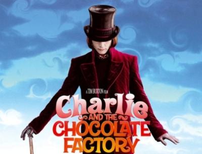 The chocolate factory Johnny Depp