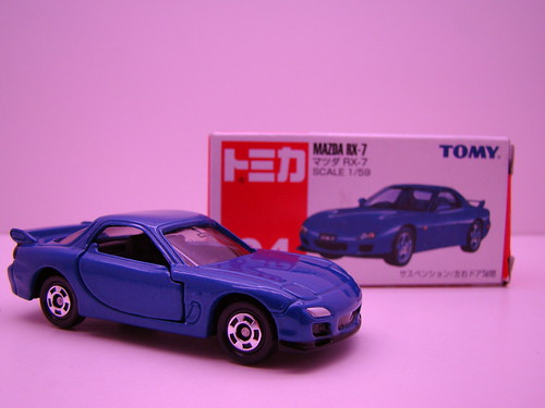 Tomica RX7