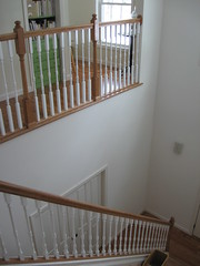 staircase - before