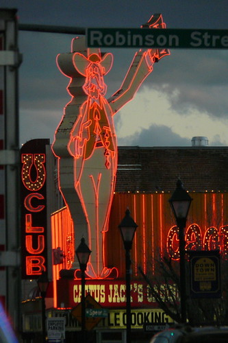 carson city neon cowboy