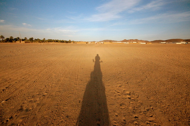 Early arrival in a Nubian village