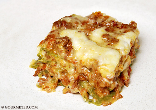Lasagna of Emilia-Romagna from Gourmeted.com