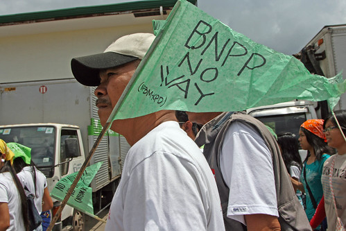 More than 2,000 attended the rally attended by Morong and Bataan residents as well as civil society groups such as the Bataan Nuclear Free Movement (BNFM), Nuclear Free Asia, Network Opposed to BNPP, Freedom from Debt Coalition, and Greenpeace.