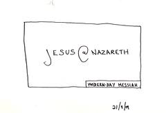Jesus' calling card