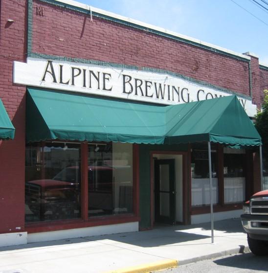 Alpine Brewing Company - Oroville, WA.